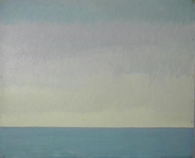 Adriano De Laurentis, 'Paesaggio marino'