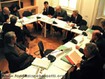 21 febbraio 2005: seminario di Daniel Callahan presso la Fondazione Bassetti