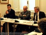 Massimiano Bucchi, Piero Bassetti e Daniel Callahan