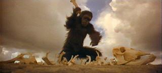 Dal film di Kubrick '2001 Odissea nello spazio'