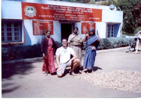 The Horticultural Research Station of the Nilgiri Hills in Tamil Nadu
