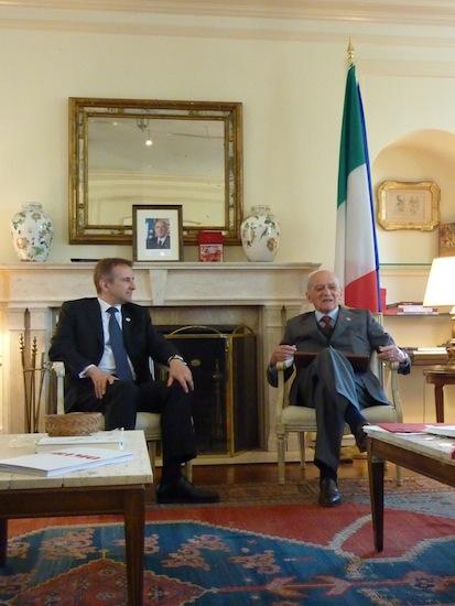Piero Bassetti Mauro Battocchi