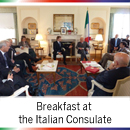 Breakfast at the Italian Consulate