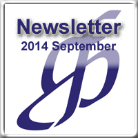 Newsletter for September 2014