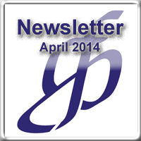 Newsletter for April 2014