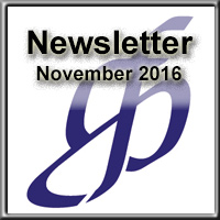 Newsletter for November 2016