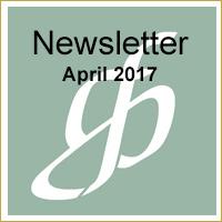 Newsletter for April 2017