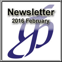 Newsletter for February 2016