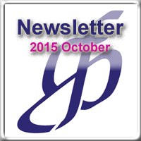 Newsletter for October 2015