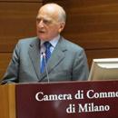 Piero Bassetti riceve il premio Gabriele Lanfredini