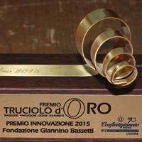 Il premio Truciolo d'Oro alla Fondazione Giannino Bassetti