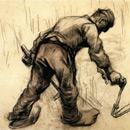 Reaper - Vincent van Gogh 1885