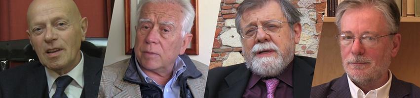 Quattro interviste di Gabriele Giacomini a Ilvo Diamanti, Paolo Mancini, Angelo Panebianco e Gianpietro Mazzoleni.