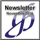 Newsletter di Novembre 2016
