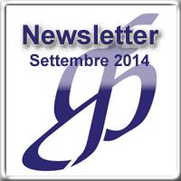 Newsletter di Settembre 2014