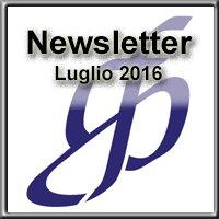 Newsletter di Luglio 2016