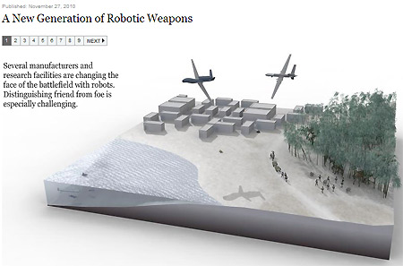 A New Generation of Robotic Weapons