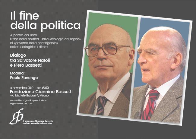 Il fine della politica, un incontro tra Salvatore Natoli e Piero Bassetti