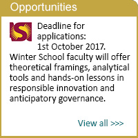 6th Annual Winter School on Responsible Innovation and Social Studies of Emerging Technologies