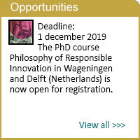 PhD course Philosophy of Responsible Innovation