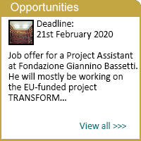 Project Assistant at Fondazione Giannino Bassetti