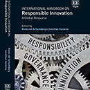 International Handbook on Responsible Innovation now available
