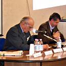 Piero Bassetti e Luca Marini